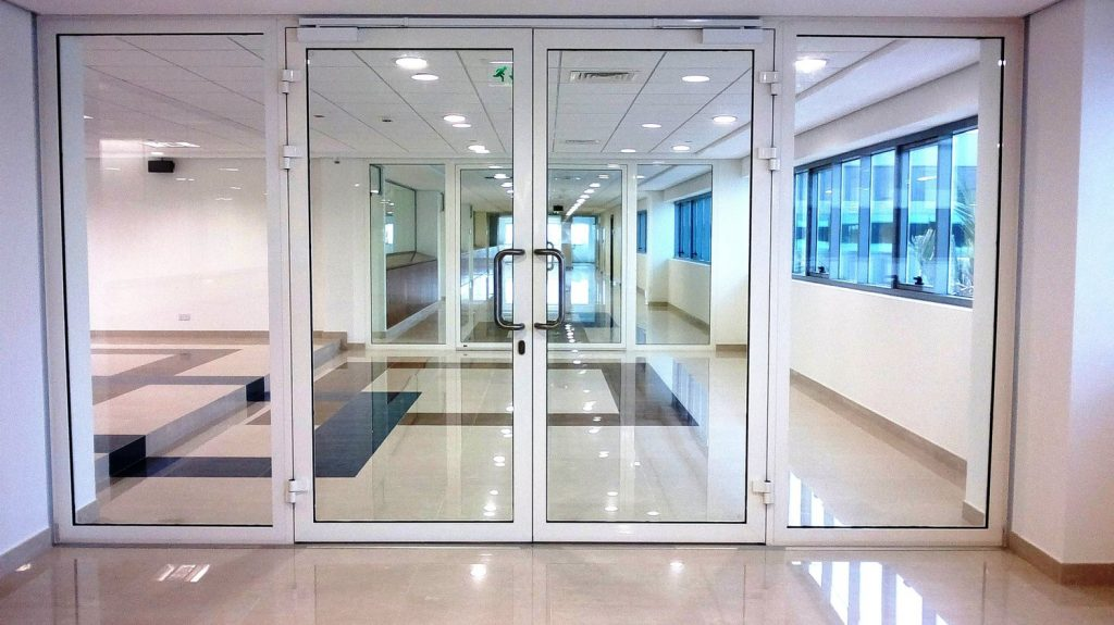Glass doors dubai